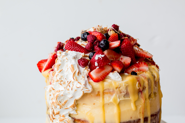 Mary Berry Lemon Meringue Cake