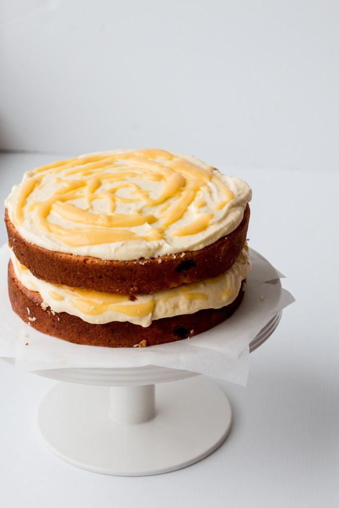 Coconut Meringue Layer Cake