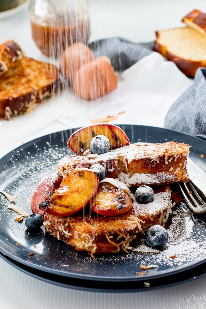 Coconut Crusted French Toast - The Brick Kitchen