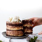 Momofuku German Chocolate Espresso Cake & a blog birthday