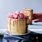 Lemon, Almond & Raspberry Layer Cake