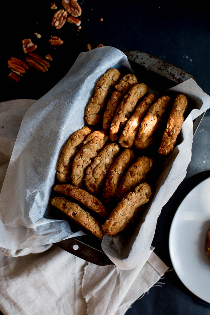 Pumpkin, pecan and white-chocolate ice cream sandwiches - The Brick Kitchen
