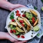 Green Chorizo Tacos with Guacamole & Fries + Mexico City