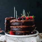 Flourless Chocolate Hazelnut Layer Cake