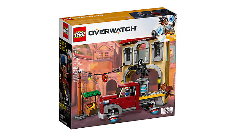 Lego Overwatch Dorado Showdown official Box image