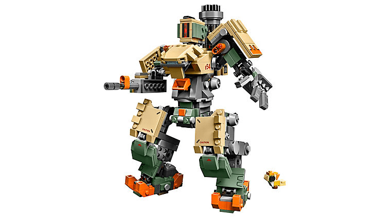 Lego Overwatch Bastion Mech