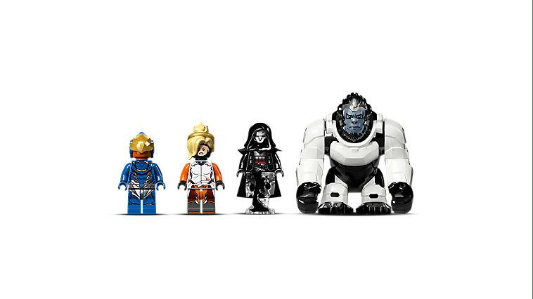 New Custom LEGO Minifigure Overwatch Villain Reaper