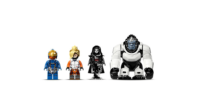 LEGO Overwatch Minifigs: Pharah, Mercy and Reaper, and Winston