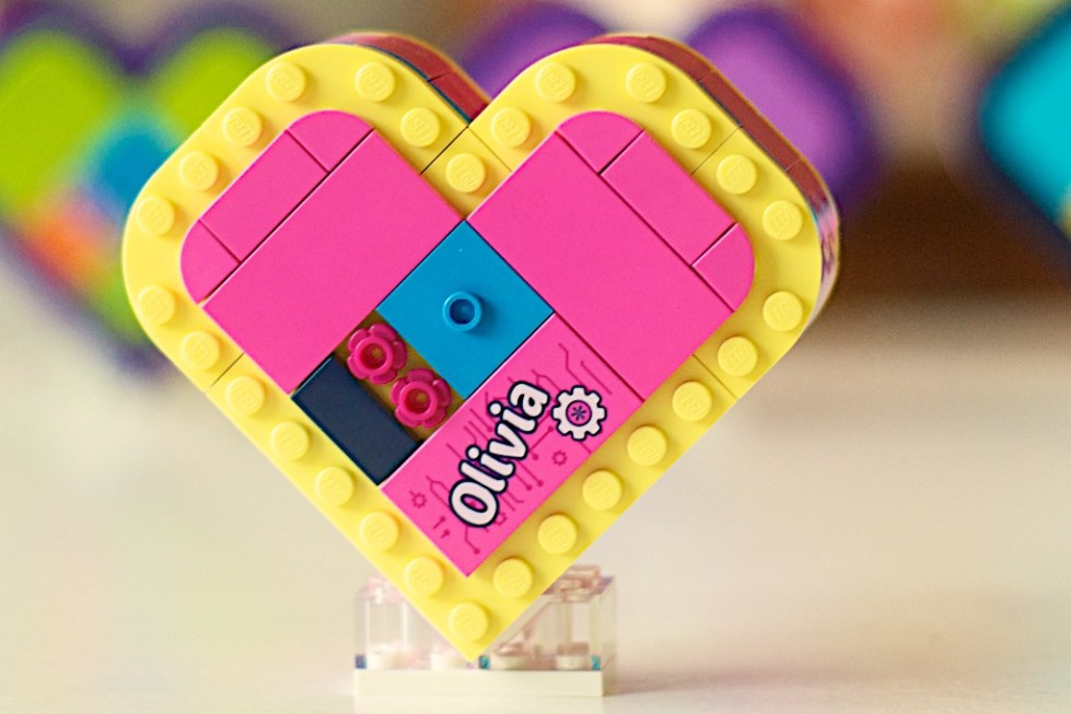 2019 Lego 41357 Olivias Heart Box Brick Land