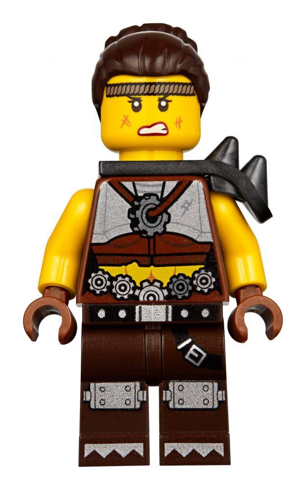 THE LEGO MOVIE 2  71023  APOCALYPSE BENNY MINI FIGURE LOOSE  2019