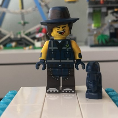 LEGO Vest Friend Rex Minifigure