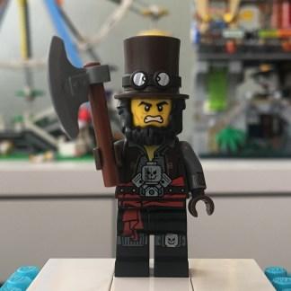 LEGO Apocalypseburg Abe Minifigure