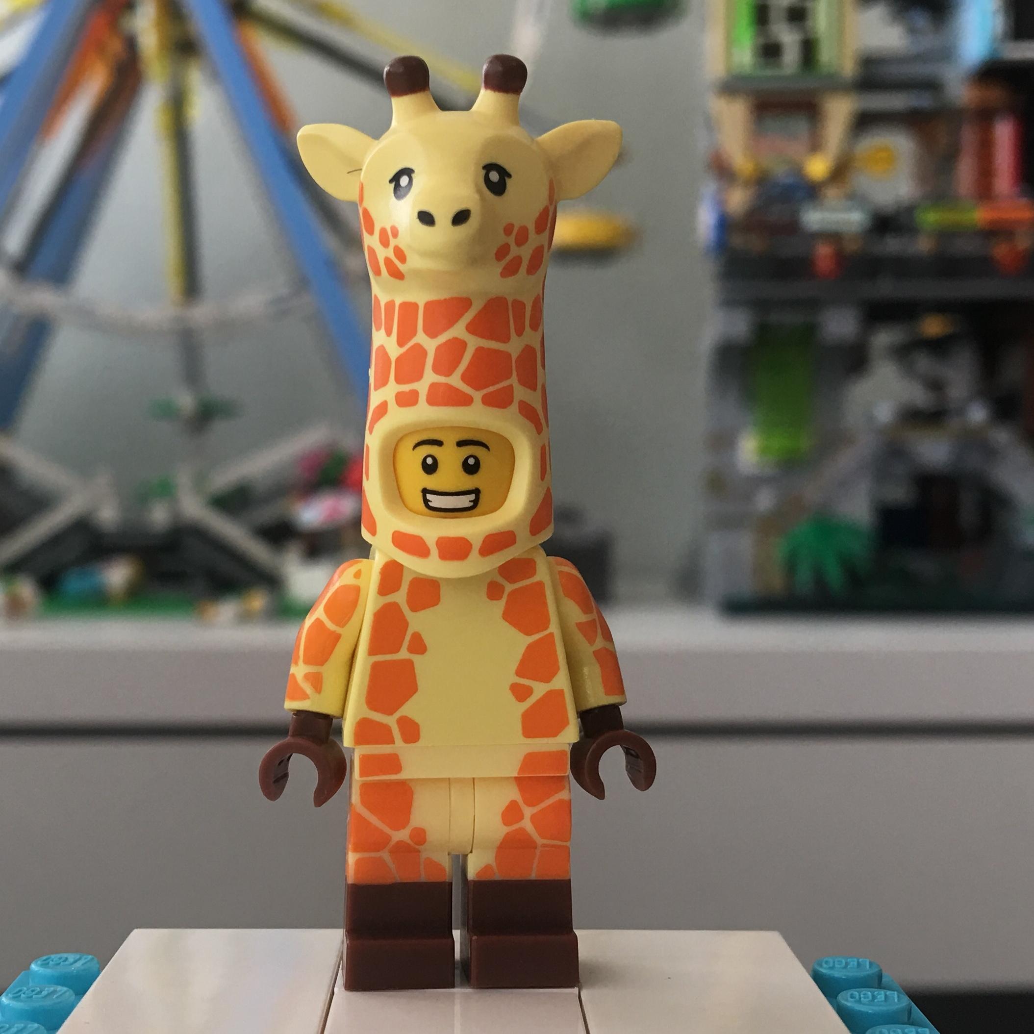 71023 Lego THE LEGO Movie 2 Series Minifigures Giraffe Guy