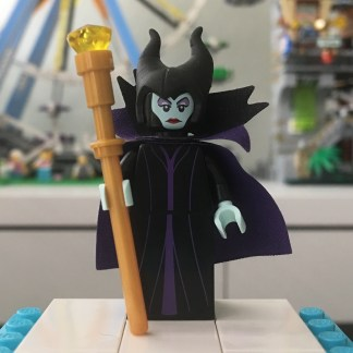 LEGO Disney Series 1 Maleficent Minifigure