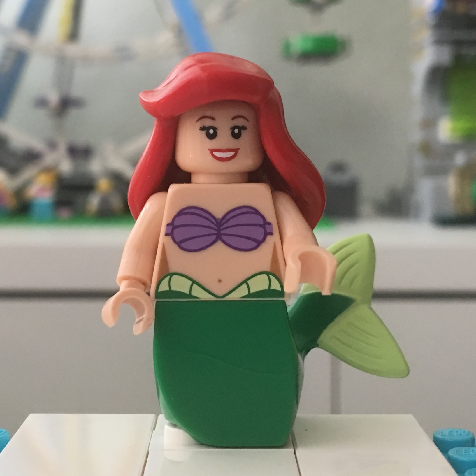 LEGO Mermaid Minifigure Flesh Head /& Torso NEW
