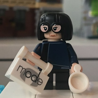 LEGO Edna Mode Minifigure