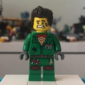 Lego El Fuego - Minifigrure - AKA Douglas Elton