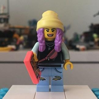 LEGO Parker Jackson Minifigure - No Jacket