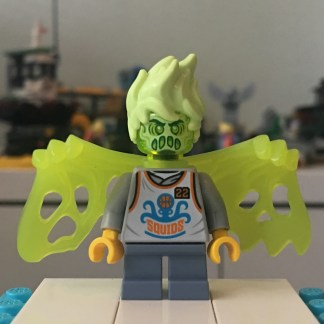 Lego Wade Minifigure - Possessed