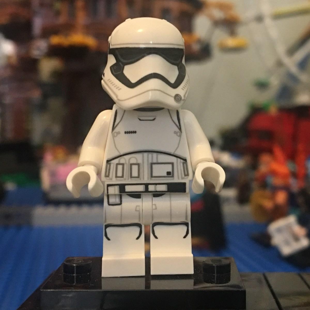 lego star wars first order stormtrooper minifigure  brick