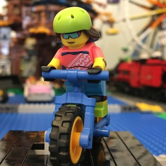 LEGO Mountain Biker Minifigure