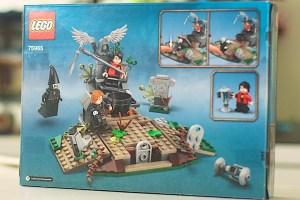 LEGO 75965 The Rise of Voldemort Box Back