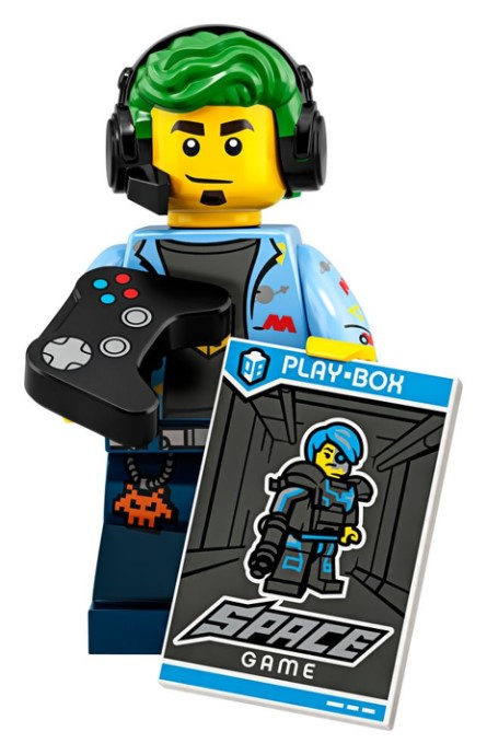 LEGO Series 19 Video Gamer Minifigure