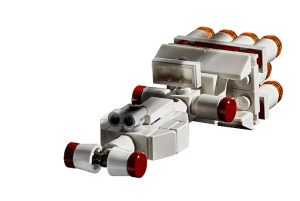 Tantive IV starship scale model from UCS LEGO 75252