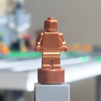 LEGO Copper Nanofigure