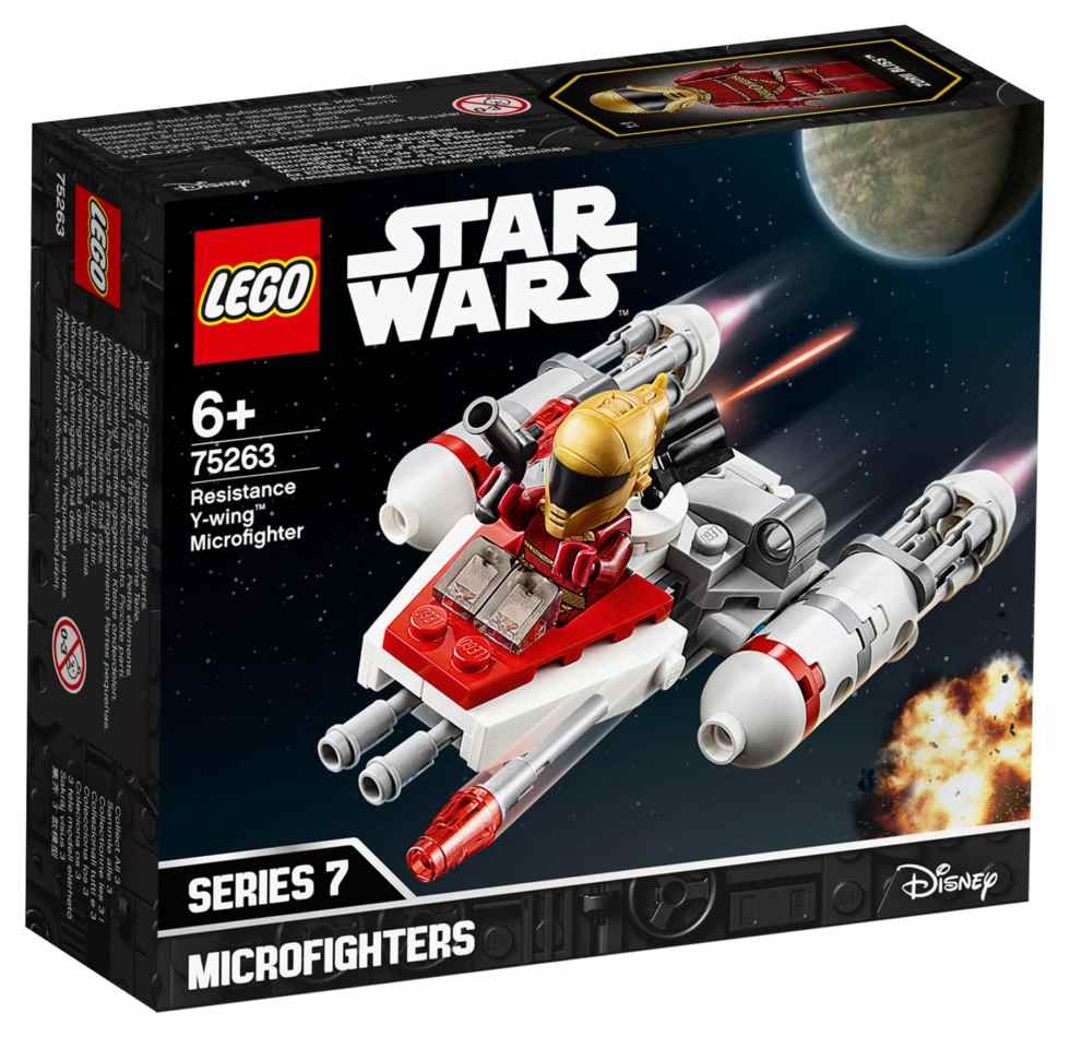 LEGO Star Wars 75263 y-wing microfighter Box Front
