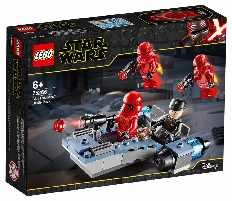 LEGO Star Wars 75266 Sith Battle Pack Box Front