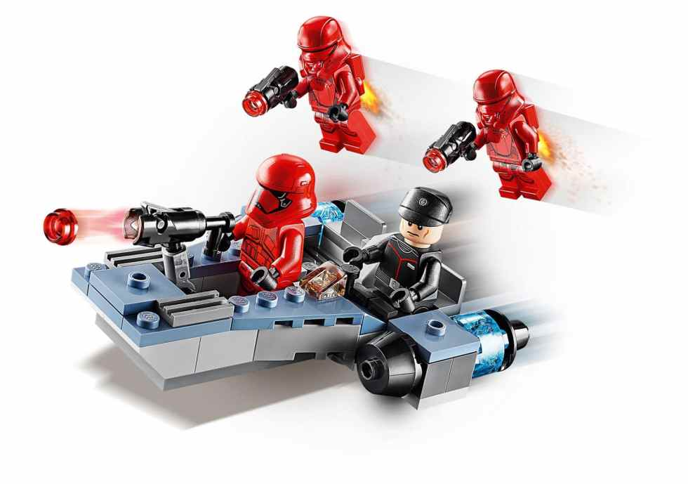 LEGO Star Wars 75266 Sith Battle Pack photos