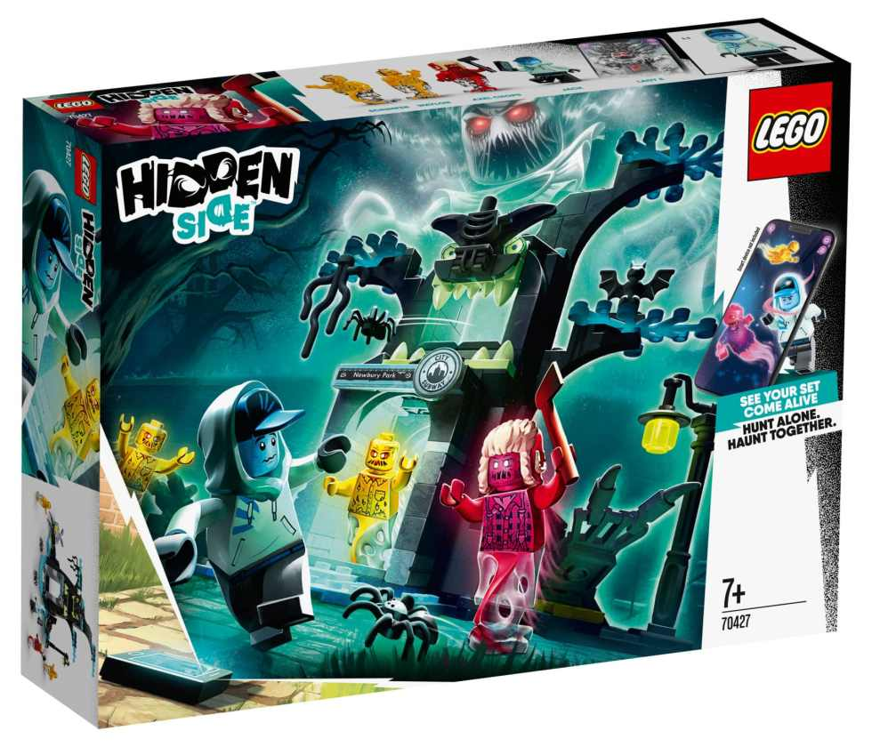 NEW lego hidden side 70427 hidden side portal box