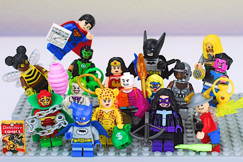 Super Heroes Minifigure Series LEGO 71026 Complete Set of 16 NEW DC Comics