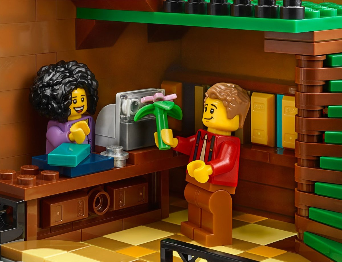 LEGO 10270 Creator Expert Modular Bookshop cash register
