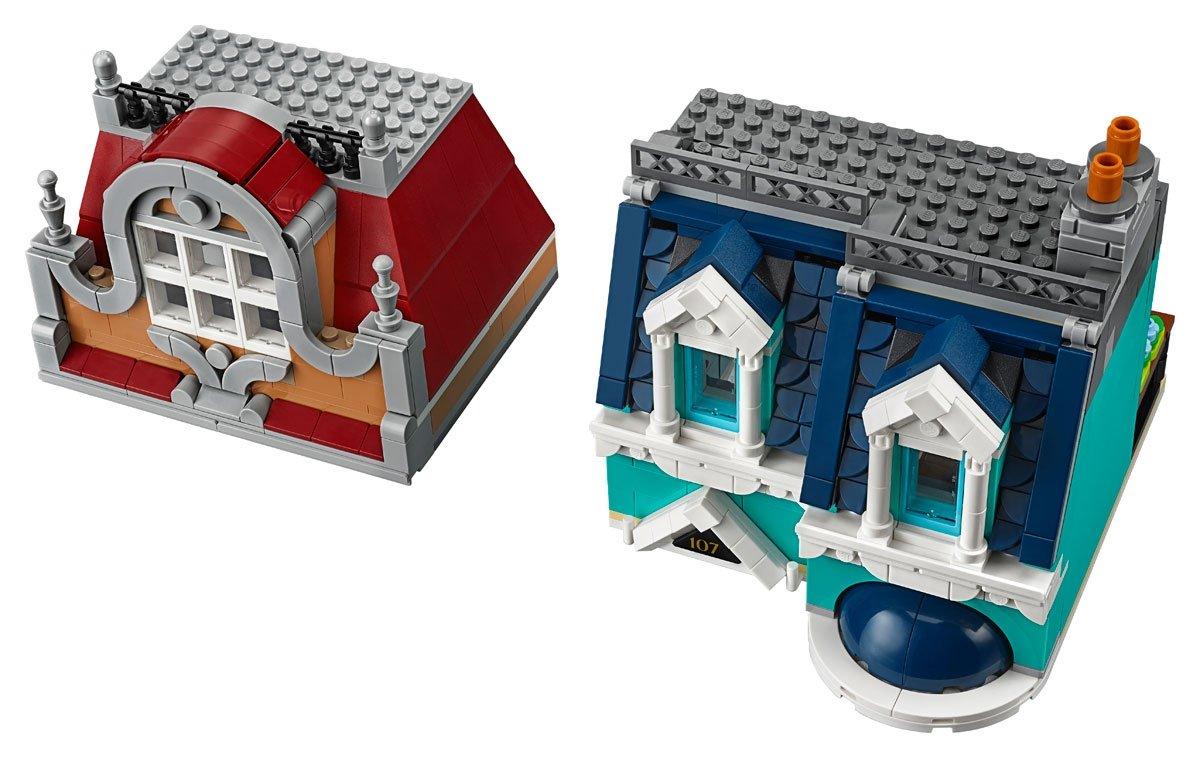LEGO 10270 Creator Expert Modular Bookshop floors 3