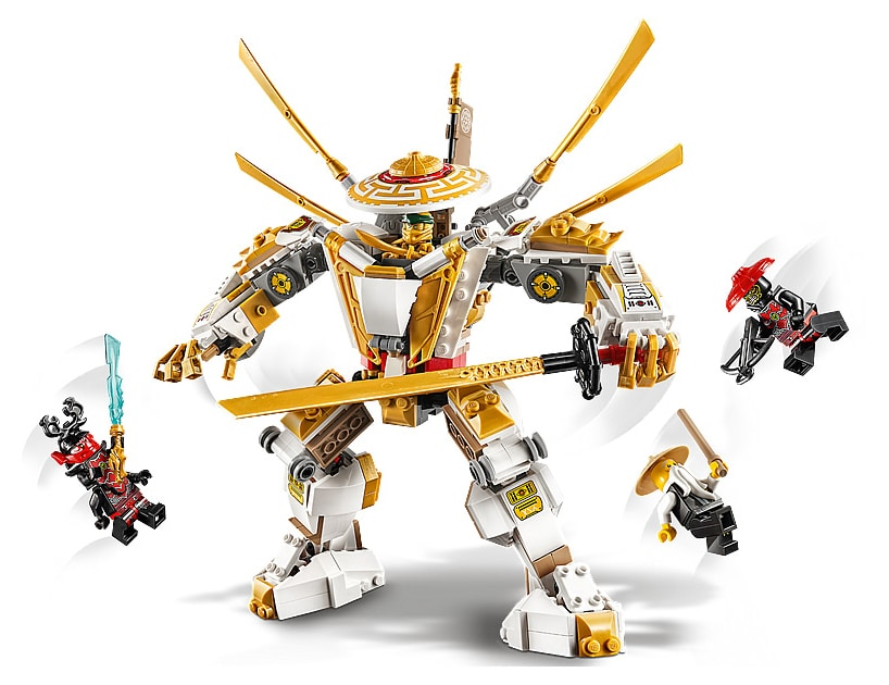 LEGO 71702 Ninjago Golden Mech Review