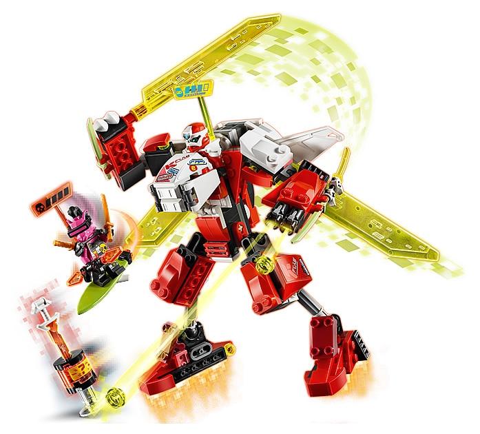LEGO 71707 Ninjago Kais Mech Jet review