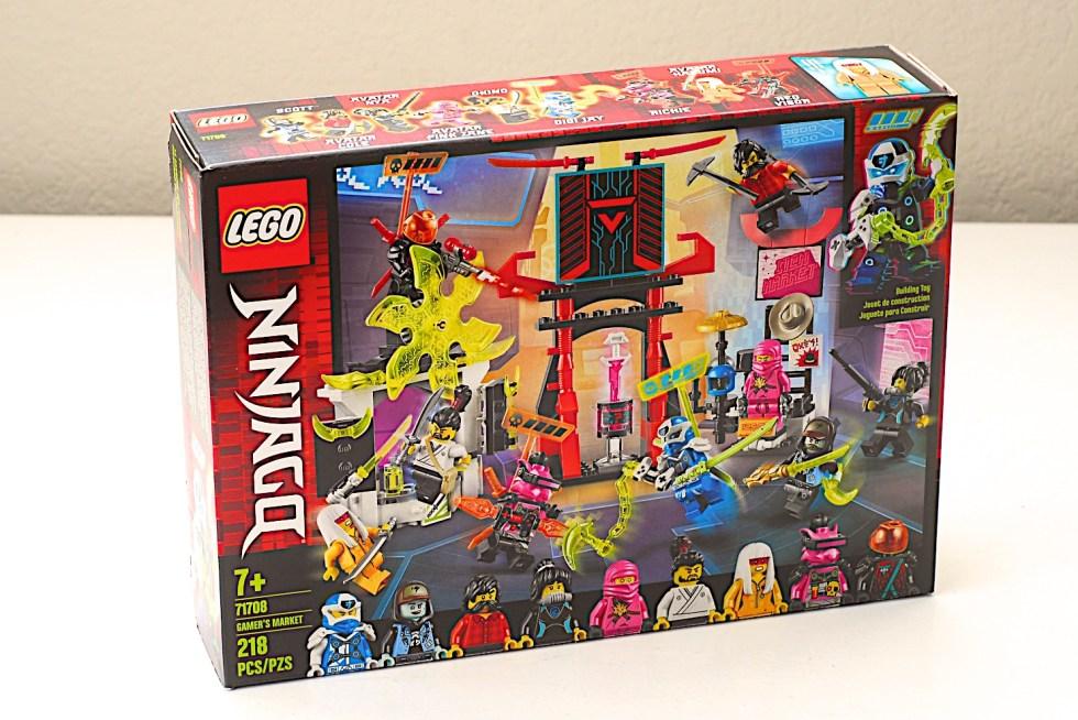 LEGO 71708 Ninjago Gamer's Market Box Front