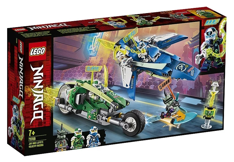 LEGO 71709 Ninjago Jay and Lloyd's Power Car Box Front