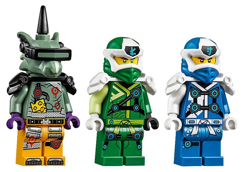 LEGO 71709 Ninjago Jay and Lloyd's Power Car Minifigures