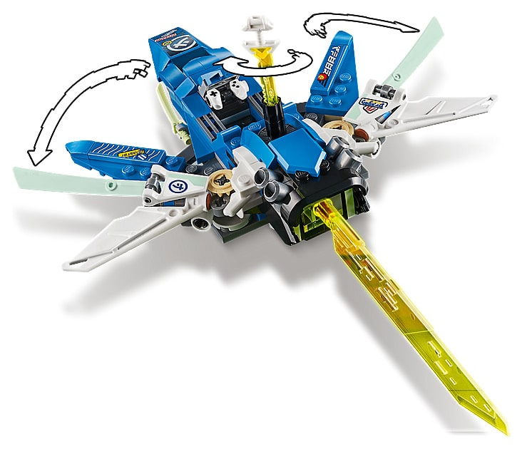 LEGO 71709 Ninjago Jay and Lloyd's Power Car pictures
