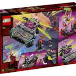 LEGO 71710 Ninjago Ninja Tuning Car Box rear