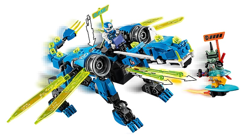 LEGO 71711 Ninjago Jay's Cyber ​​Dragon pictures
