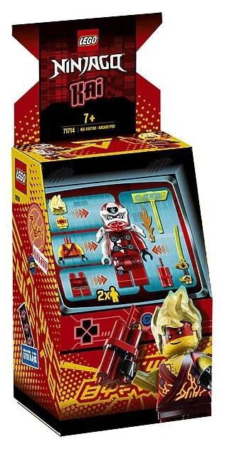 LEGO 71714 Ninjago Avatar Kai - Arcade capsule box front