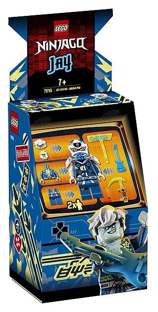 LEGO 71715 Ninjago Avatar Jay - Arcade capsule box