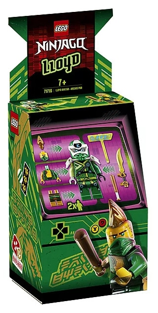 LEGO 71716 Ninjago Avatar Lloyd - Arcade capsule