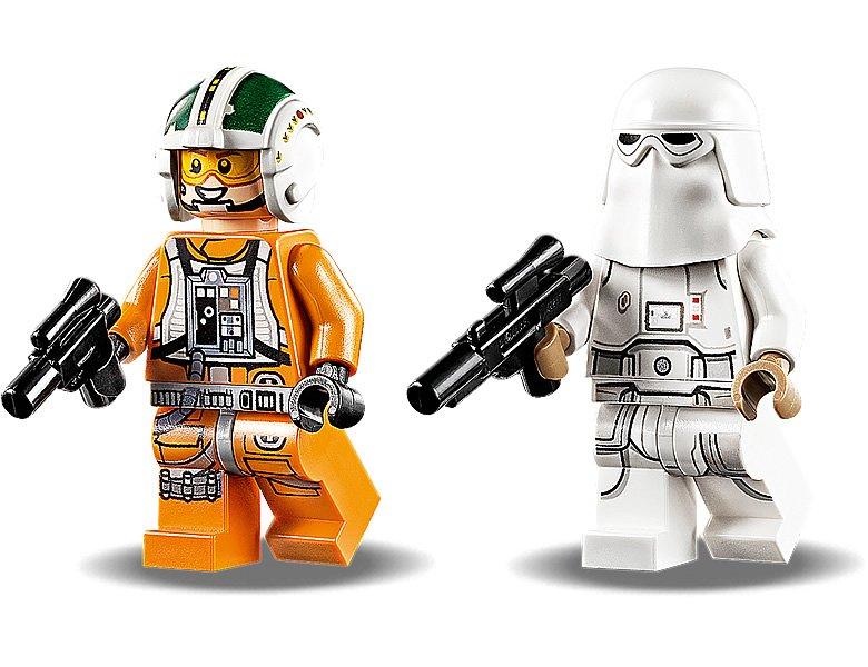 LEGO 75268 Star Wars Snowspeeder minifigures