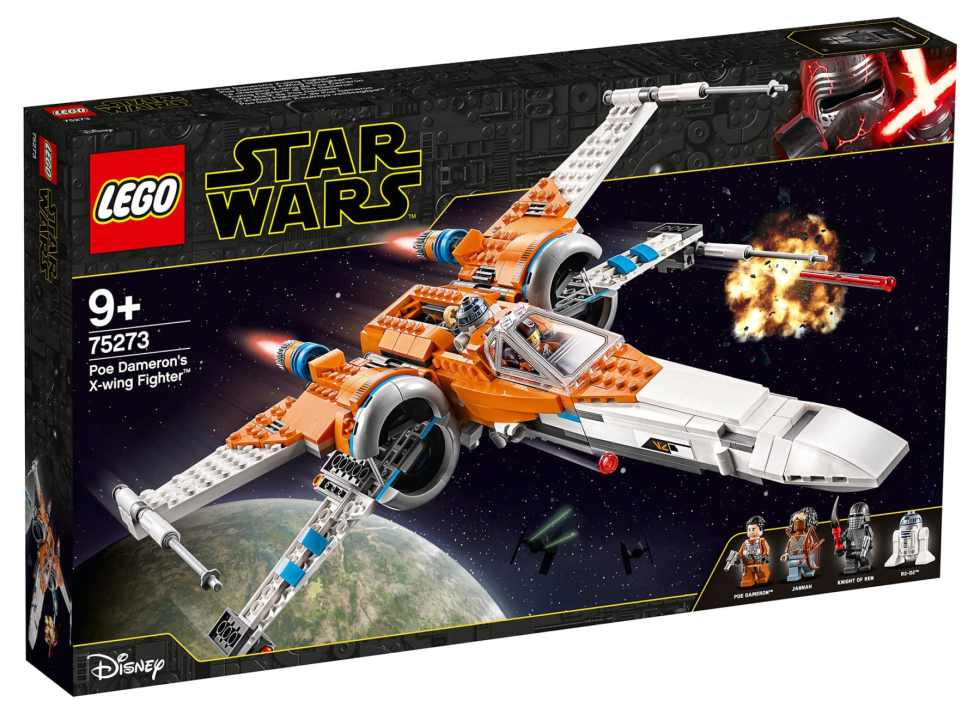 LEGO 75273 Star Wars PoesX-Wing Fighter Box Front