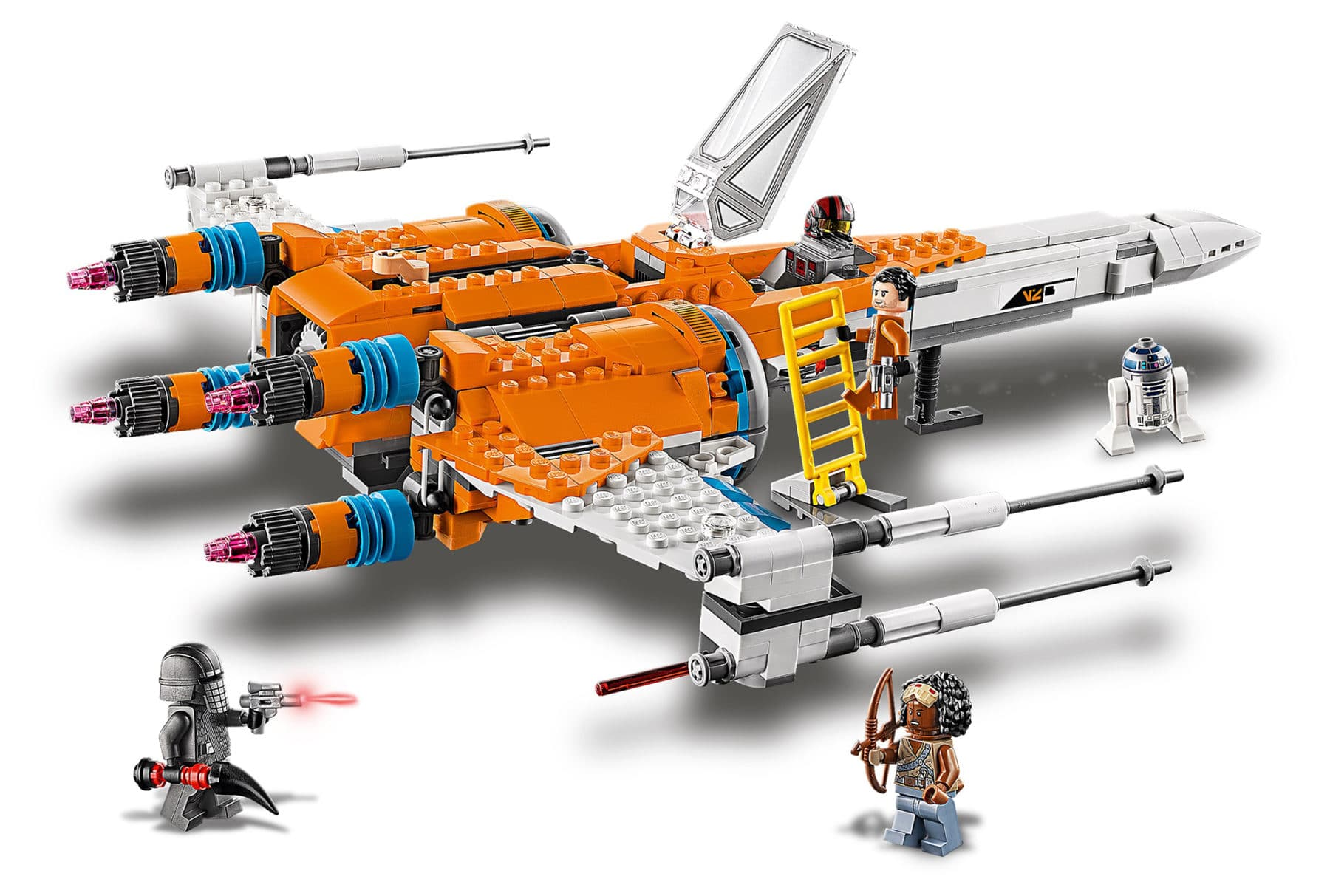 LEGO 75273 Star Wars PoesX-Wing Fighter Review